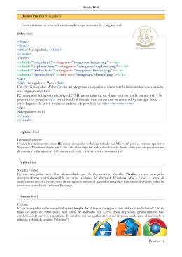 html> head> title>Navegadores
