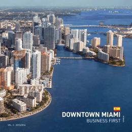 DOWNTOWN MIAMI - Miami Downtown Development Authority