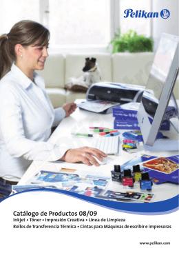 Catálogo de Productos ES Screen