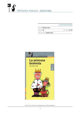 La princesa bromista - Leer es un buen plan