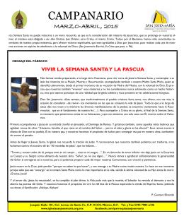 CAMPANARIO - Parroquia San Josemaría Escrivá