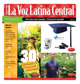 At the Center of Your Community / Al Centro de Su Comunidad