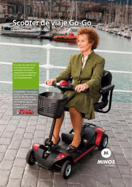 Scooter de viaje Go-Go - Pride Mobility Products
