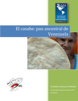 El casabe: pan ancestral de Venezuela