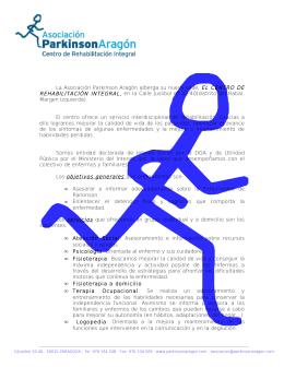 La Asociación Parkinson Aragón ha puesto en marcha una nueva