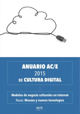 Anuario AC/E de cultura digital 2015