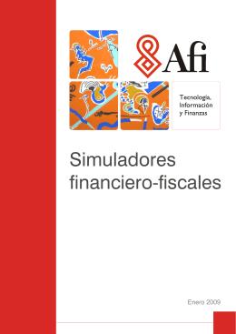 Simuladores financiero-fiscales