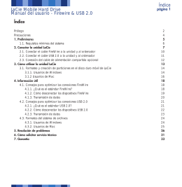 p2 u&i hard drive Manual