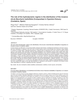 The role of the hydrodynamic regime in the distribution of
