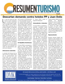 Descartan demanda contra hoteles PP y Juan Dolio