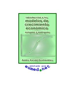 INTRODUCCION A LOS MODELOS DE CRECIMIENTO