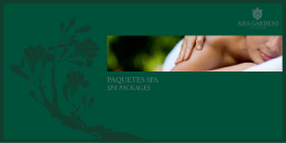 PAQUETES SPA