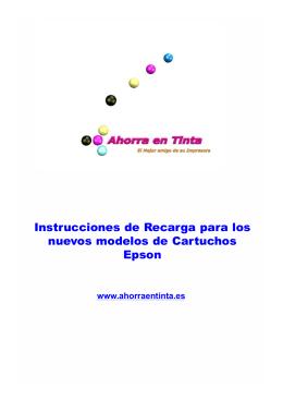 instrucciones Epson