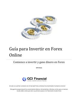 Guía para Invertir en Forex Online