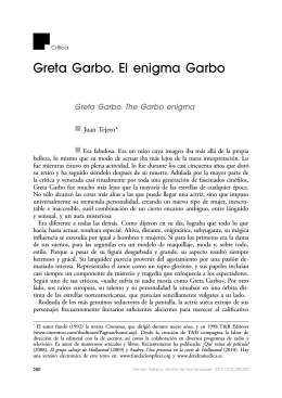 Greta Garbo. El enigma Garbo
