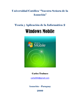Windows Mobile - JeuAzarru.com