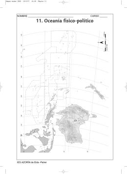 Mapas mudos 1ESO