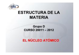 NÚCLEO - Grupo de Física Nuclear