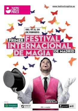 Dossier - 1er FESTIVAL INTERNACIONAL DE MAGIA DE MADRID