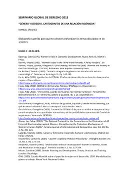 seminario global de derecho 2013