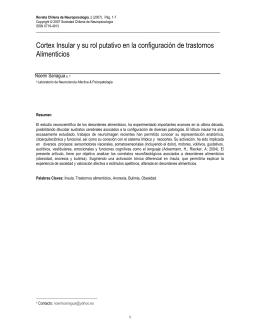 Texto completo PDF - Revista Chilena de Neuropsicología