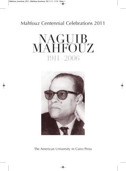 Mahfouz brochure