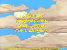 Los Simpsons Padre de Familia American Dad