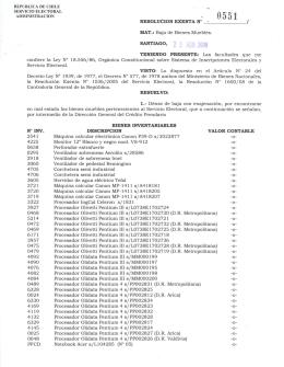 enlace - Servicio Electoral, SERVEL
