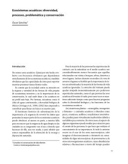 Ecosistemas acuáticos - Instituto Nacional de Ecología