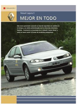 Renault Laguna II - Mejor en todo