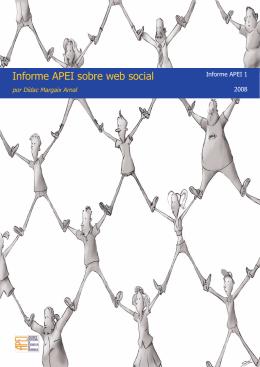 Informe APEI sobre web social - e-Lis