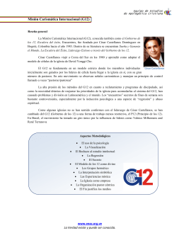 Misión Carismática Internacional (G12)