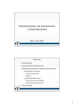Operaciones de Expansión y Contracción