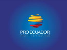 el mercado - Pro Ecuador