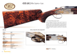 CCS 25 | Rifles Express • Caza