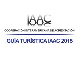 Guía Turistica IAAC