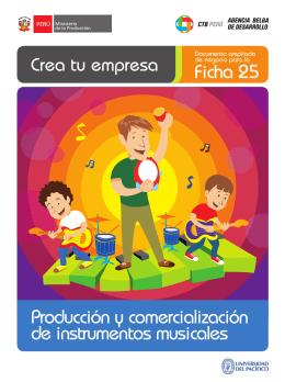 Ficha 25 Producción y comercialización de instrumentos musicales