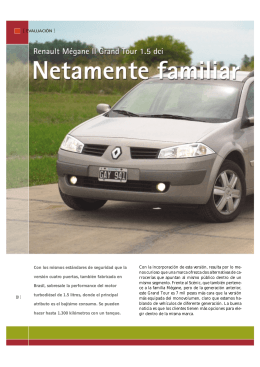 Renault Mégane Grand Tour 1.5 dci