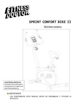 SPRINT CONFORT BIKE II_Trad ES