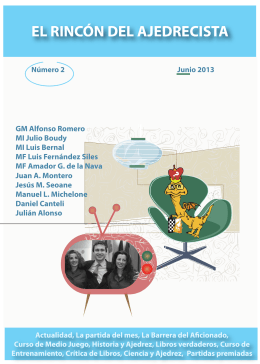 Revista El Rincón del ajedrecista (Nro.2)