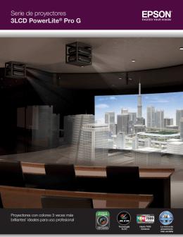 Serie de proyectores 3LCD PowerLite® Pro G