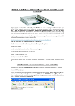 manual para configuracion del deco adb sin tener