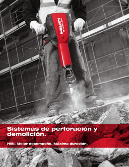 Sistemas de perforación y demolición 1403.3kB