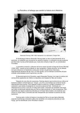 la penicilina, el hallazgo que cambió la historia de la medicina.pages