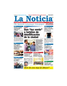 24 - La Noticia - The Spanish