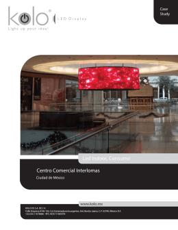 Caso de Estudio Centro Comercial Interlomas LED Web