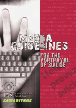 Suicide Media FINAL.pmd - International Association for Suicide
