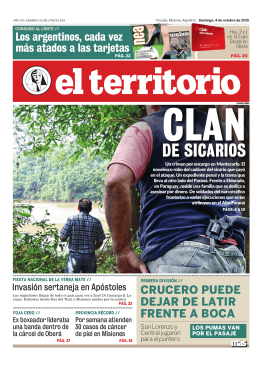DE SICARIOS - Territorio Digital