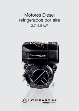 Motores Diesel refrigerados por aire