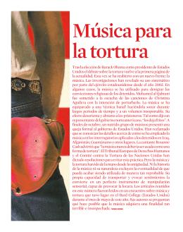 Música para la tortura